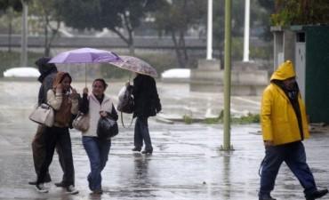 Lluvias con registros dispares en la localidad de Urdampilleta