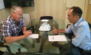 Pisano se reunió con autoridades de la Dirección de Energía Bonaerense