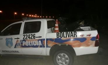 CPR: Interceptaron un motocicleta y se le realizaron varias infracciones
