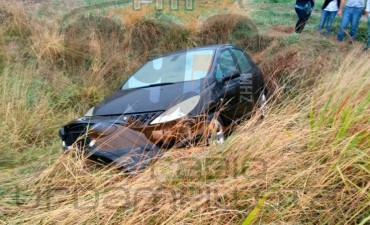 Ruta 65: Despiste sin consecuencias de una familia de Bolívar