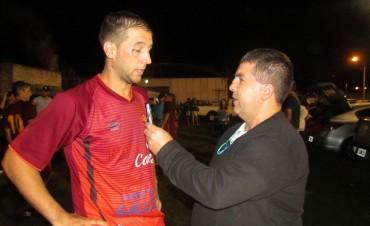 """Eliel Nabáes: """"Hicimos un planteo inteligente, golpeamos en el primero y después sacamos a flote el segundo partido"""""""