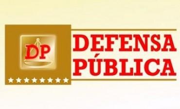 Difusión desde la oficina de Defensa Pública de Bolívar