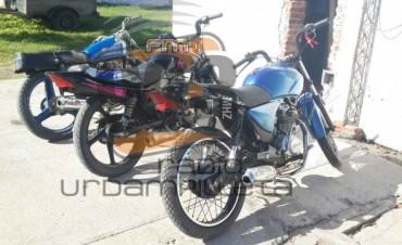 """Operativos Policiales: Tres motos secuestradas, una de ellas con el chasis y motor adulterado"""""""