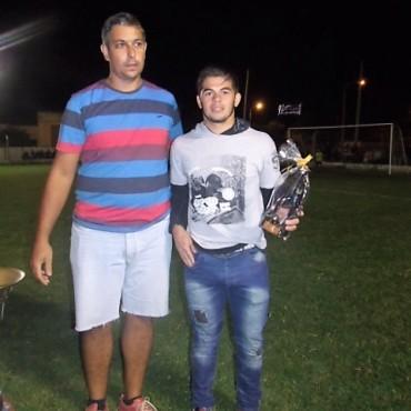 Cristian Brítez fue el goleador del Campeonato Nocturno de la EP N° 54