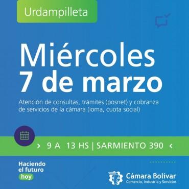 Mañana la Cámara tendrá abierta su sede en Urdampilleta