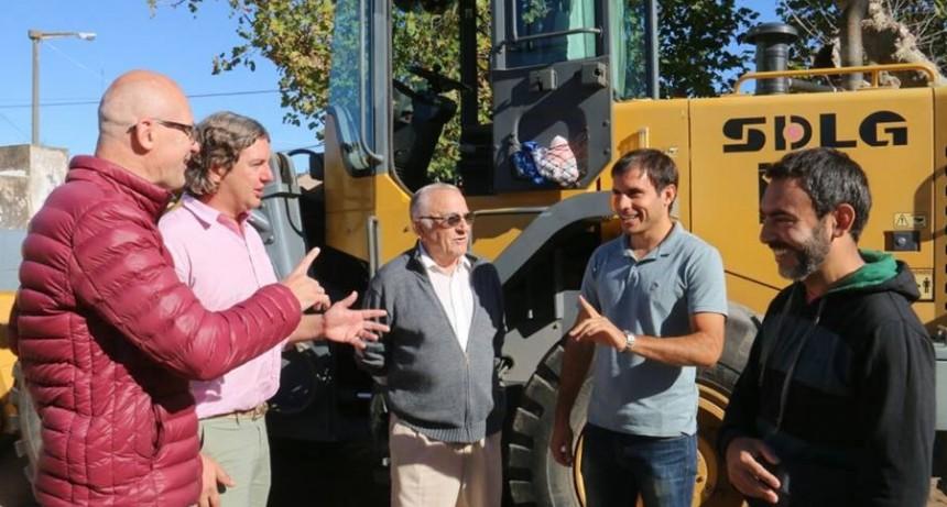 El equipo municipal se reunió en Urdampilleta