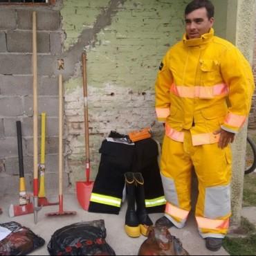 Bomberos Voluntarios: El cuerpo activo recibió nuevos elementos