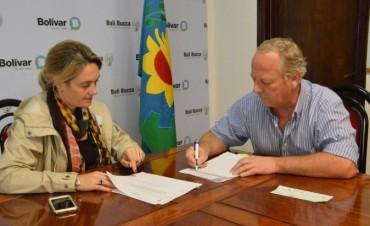 La Municipalidad entregó un subsidio a Bomberos Voluntarios