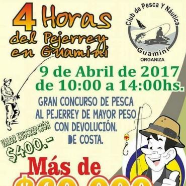 Concurso de pesca '4 horas del pejerrey' en Guamini