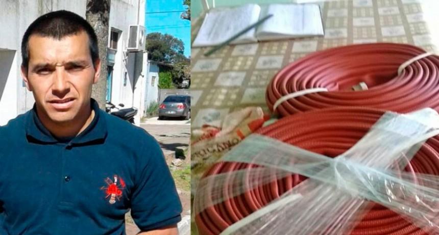 Pablo Prieto: 'Seguimos incorporando materiales para el cuartel'