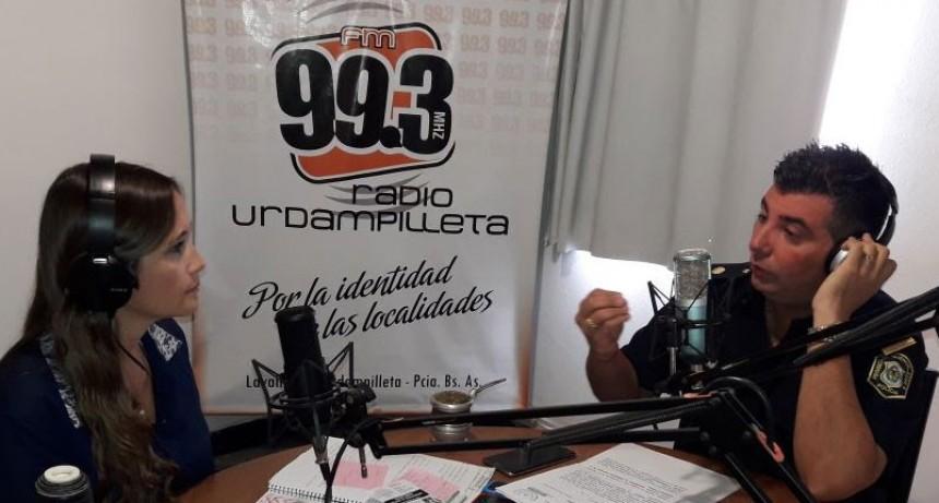 Luciano Reos, Subcomisario Dependencia Urdampilleta: Protección por violencia familiar.