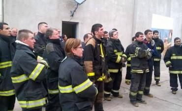 Capacitación de Bomberos Voluntarios en Urdampilleta