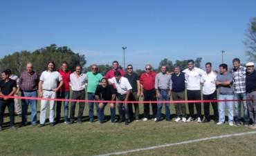 CAU: Se reinauguró el Campo de Deportes