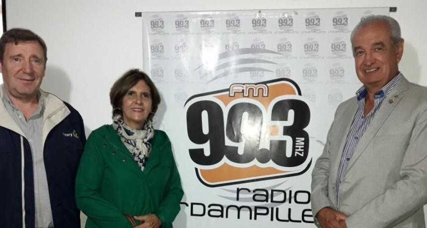Urdampilleta recibió la visita del Gobernador Distrital de Rotary