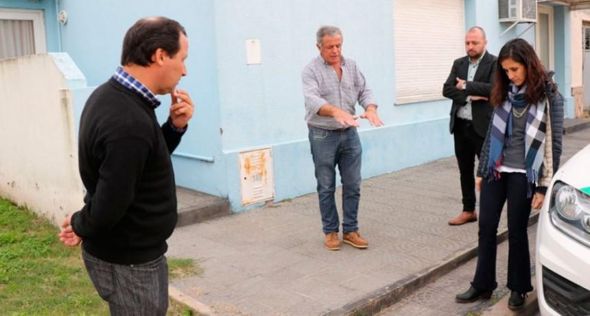 Pisano atendió en la Delegación a los vecinos de Urdampilleta (Audio)
