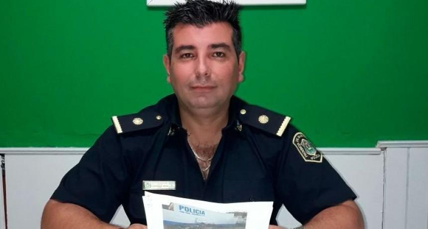 Luciano Reos es el nuevo Jefe de la Comisaría de Bolívar