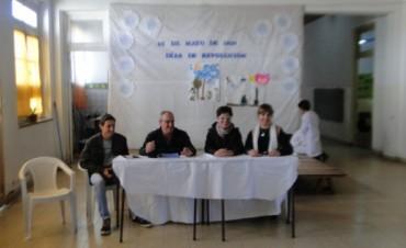 Los integrantes de 'Radio Urdampilleta' fueron reconocidos en el 'Día del Periodista'