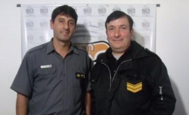 Personal de la Unidad Penitenciaria visitó por primera vez los estudios de 'Radio Urdampilleta'