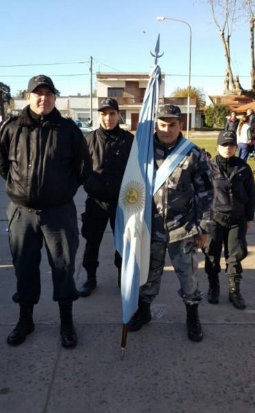 La Unidad  Penitenciaria Nº 17 de Urdampilleta presente en el acto central del 20 de Junio