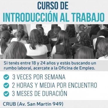 Desde la Oficina de Empleo: Nuevo curso de introducción al trabajo que iniciará el 10 de julio