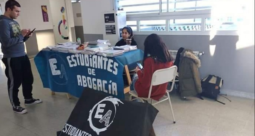 Se creo la mesa de representación para estudiantes de abogacía