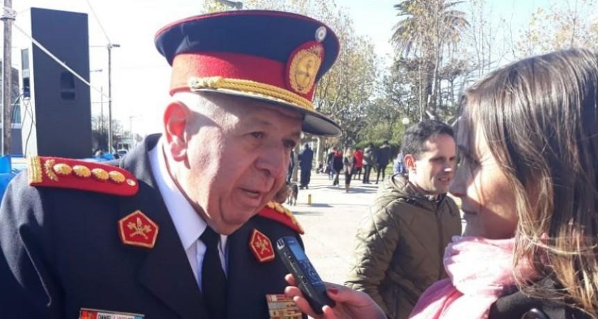 Daniel Vicente, presidente de la Federación de Bomberos, 'Estamos en una lucha constante en relación a lo que el gobierno le adeuda al sistema nacional de bomberos'