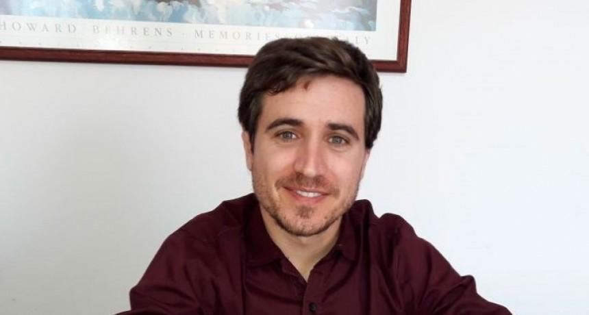Agustín Elissamburu Nuevo profesional contable en la localidad