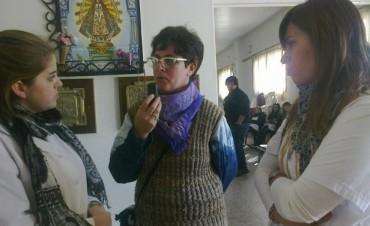 Alumnos de la secundaria Nº13 participaron de las jornadas en el HCD de Bolívar