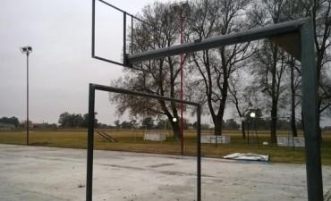 Se inaugura el playón deportivo de Pirovano