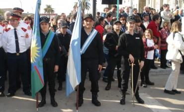 La Unidad N°17 participó del Acto Central de Bolívar por el Bicentenario de la Patria