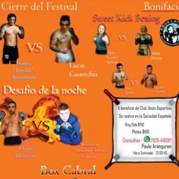 ESTE VIERNES: Festival de boxeo en Bonifacio