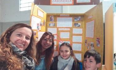 Con el proyecto de 'Jabones' alumnos del CEC Nº 803 pasaron a etapa regional en la 'Feria de Ciencias'