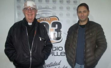 Padre Peter Oliver: 'La verdad es que quería volver pronto al pueblo'
