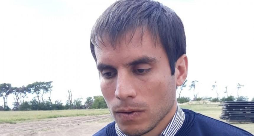 Alejandro Lappena, delegado de Pirovano, presente en el aniversario de Urdampilleta