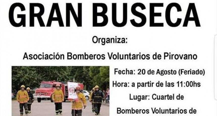 Gran venta de Buseca a cargo de Bomberos Voluntarios de Pirovano