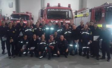 Bomberos Voluntarios: curso Federativo de 'Protocolo y Ceremonial'