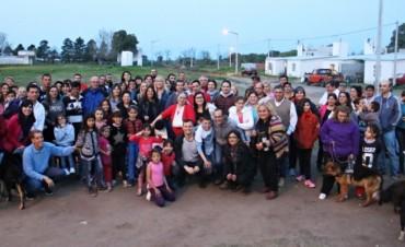 Bucca anunció que se construirá la plaza del Barrio 'Los Zorzales Nuevo'