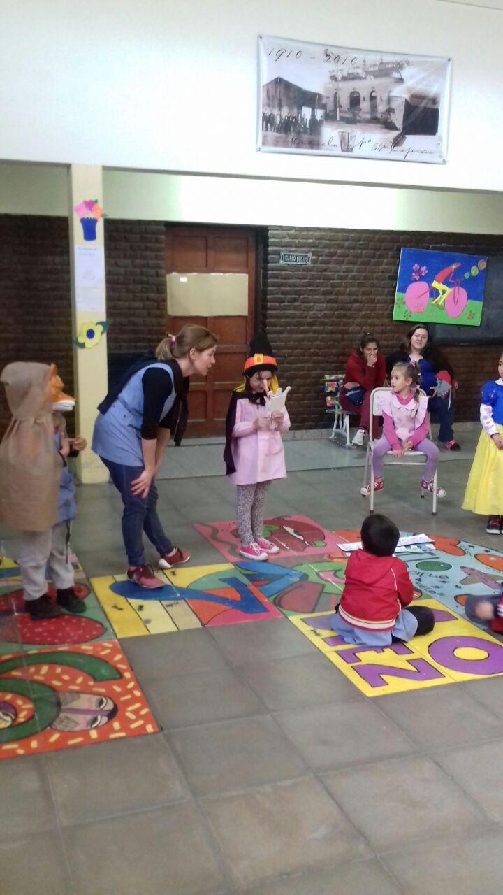 Actividades de articulaci n entre escuela n 54 y jard n de for Actividades de jardin de infantes