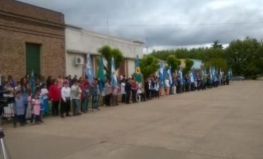 Pirovano celebró 103 aniversario con el acto protocolar