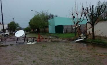 Tormenta y temporal: Daños importantes en Pirovano y Urdampilleta (Noticia en Desarrollo)