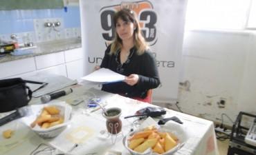En homenaje a las enfermeras, Radio Urdampilleta transmitió desde el hospital