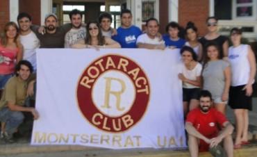Rotaract  Club Montserrat  en Urdampilleta, trabajó en la Escuela 22