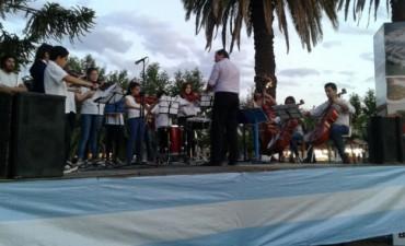 La Orquesta Escuela de Bolívar presente en la Fiesta de las Colectividades