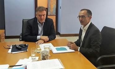 Marcos Pisano se reunió con el Secretario de Viviendas de la Nación
