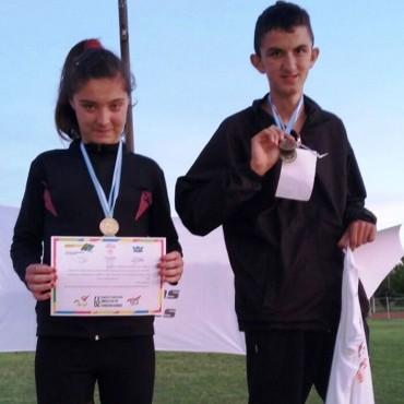 Dos atletas bolivarenses obtuvieron medallas en La Pampa