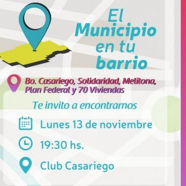 El municipio en tu barrio estará hoy en Casariego