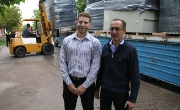 Marcos pisano gestiona dos generadores de energía ante Nación