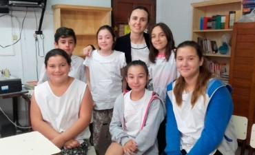 Maria Luz Dellarosa y alumnos contaron detalles del viaje