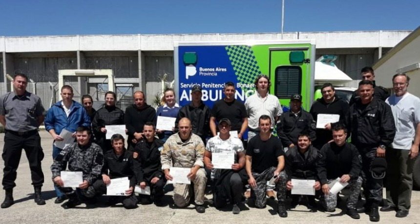 UP N.º 17: Finalizó el curso de primeros auxilios y se entregaron los certificados