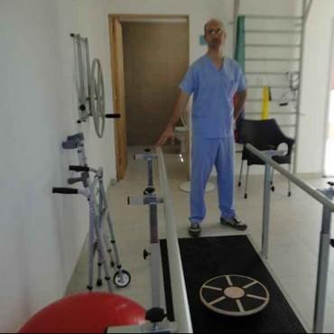 Tras su instalación, ya está en funcionamiento la nueva aparatología de kinesiología del Hospital 'Juana G. de Míguens'